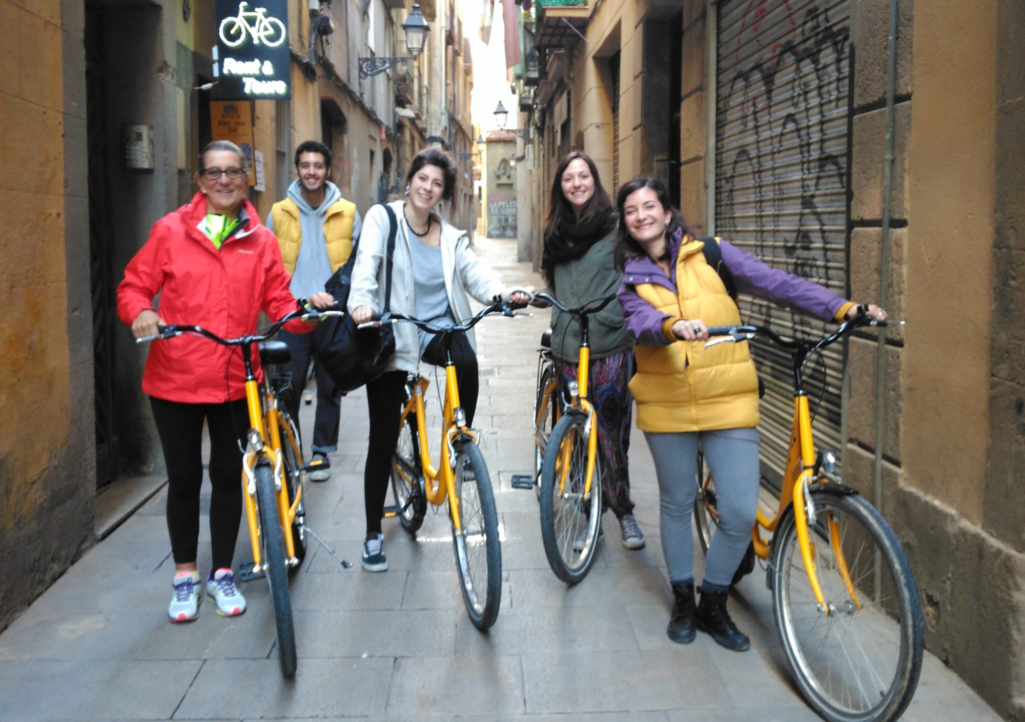 Gothic-Modernist Barcelona Bike Tours visits reservation booking online
